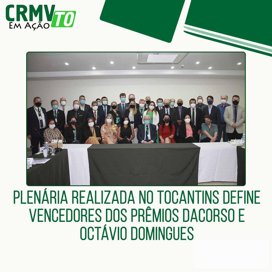 plenária realizada no Tocantins define campeões dos prêmios Dacorso e Octávio Domingues - 23.09